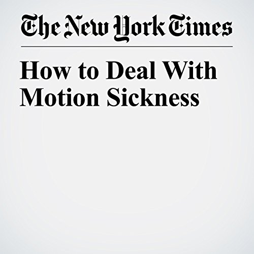 How to Deal With Motion Sickness copertina