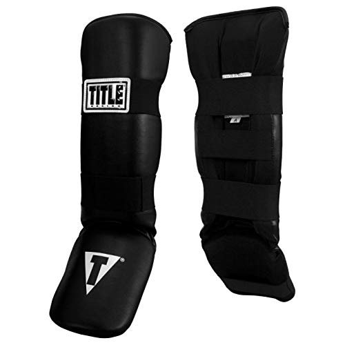Title Boxing Vinyl Shin & Instep Guards 2.0, Adult