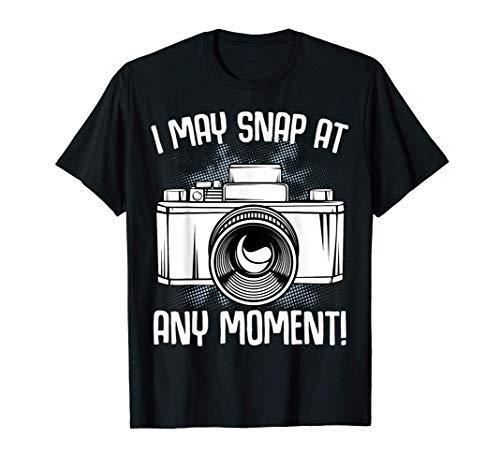 Puedo tomar en cualquier momento fotos de la cámara Camiseta