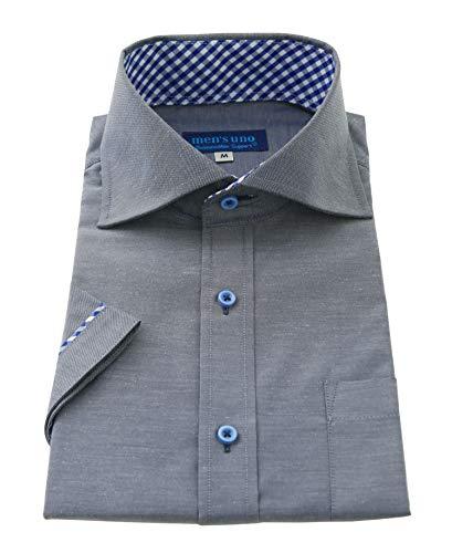men's uno(メンズウーノ) 半袖ワイシャツ メンズ 形態安定 ノーアイロン クールビズ ufs-3 022-M
