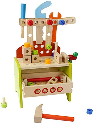 Buy Bargain Ladan Children's Building Blocks, DIY Carpenter Toy, Building and Learning Playset Multi...