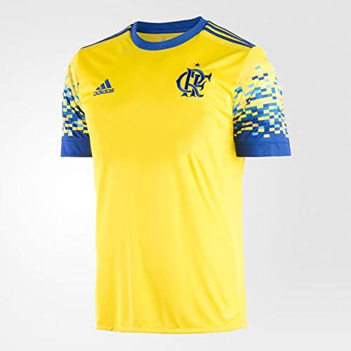 Camisa Adidas Flamengo III 2017 Amarela Masculina G