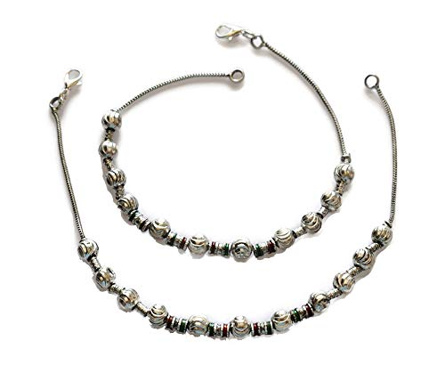 IndiaStop Anklet Fashion Bollywood Gothic Handmade Payal Beach Jewelry Ankle Girls Gift Festival