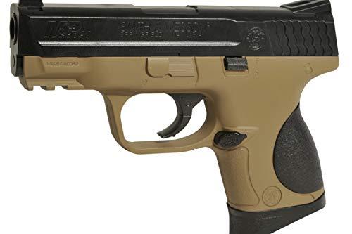 CyberGun Smith & Wesson M&P 9C Springer BB Bicolor - Caña de Pescar (6 mm)
