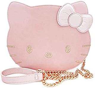 Loungefly x Sanrio Hello Kitty Face Metallic Crossbody Purse