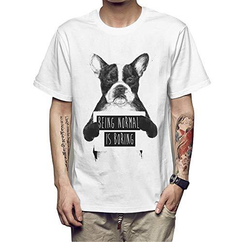 Weike 2020 - Camiseta de manga corta para hombre (talla: XL)