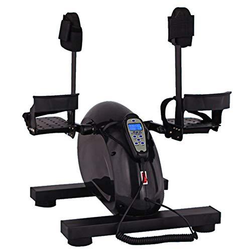ZXYWW Ejercitadores De Piernas para Fisioterapia para Personas Mayores, Ejercitador De Pedal para Bicicleta Eléctrica con Protección para Las Piernas Y Control Remoto, Ejercicio para Brazos Y Piernas