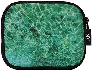 Abby Marshall AM21 Rockpool Small Pouch, Turquoise, 18.5cm x 15.5cm x 1.5cm