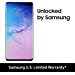 Samsung Galaxy S10+Factory Unlocked Android Cell Phone   US Version   128GB of Storage   Fingerprint ID and Facial Recognition   Long-Lasting Battery   U.S. Warranty   Prism Blue
