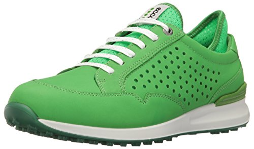 ECCO Damen Women's Golf Speed HYBRID Golfschuhe, Grün (50095MEADOW/TOUCAN NEON), 41 EU