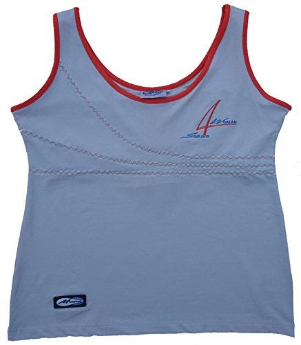 MORPHO Outdoors - Women's HERA Athletic Shirts, Vaporous Grey, Large