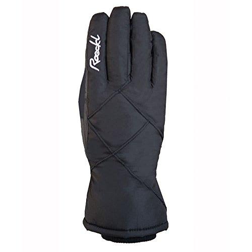 Roeckl Damen Cesana Handschuhe, Schwarz, 8