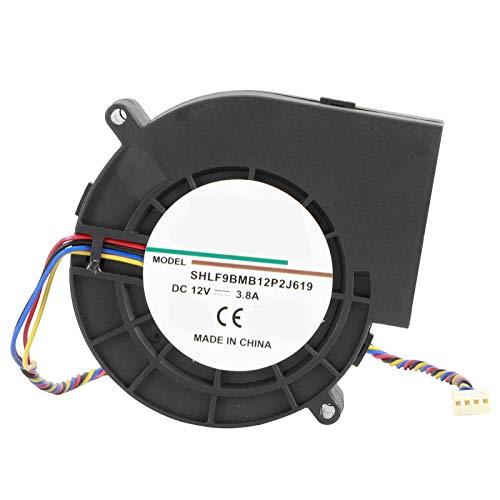 Ventilador centrífugo, accesorio del Bbq de la fan del ventilador 12V del doble del rodamiento de bolitas 190CFM