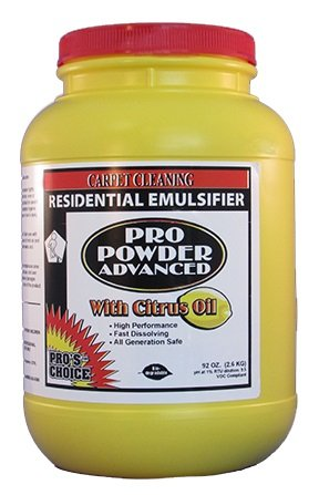 CTI - Pro's Choice - Pro Powder 2000 - Extraction Detergent for Carpet - Carpet Cleaning - 1 Tub - 3170