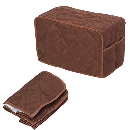 Rodipu Staubschutzabdeckung für Haushaltsgeräte, Schutzabdeckung für Herdabdeckung, Staubschutzabdeckung für Suppentopf, leichte(Brown, 40.6 * 23 * 25.4cm)
