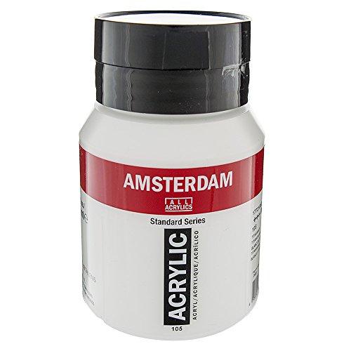 Amsterdam Acrylique couleur 500ml bouteille Blanc de titane