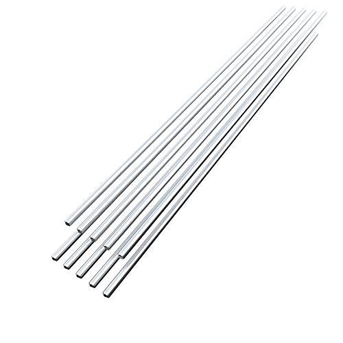 10 UNIDS Baja Temperatura Alambre de Soldadura de Aluminio Flujo Cored 3.2mm * 450mm Al-Mg Barra de Soldadura No Necesita Polvo de Soldadura