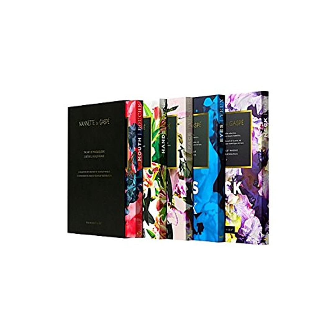 食器棚考古学オーガニックNannette De Gaspe Restorative Techstile Masque Coffret (Pack of 6) - デガスペ修復仮面劇コフレ x6 [並行輸入品]