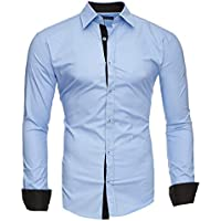 Kayhan Hombre Camisa, TwoFace Lightblue XL