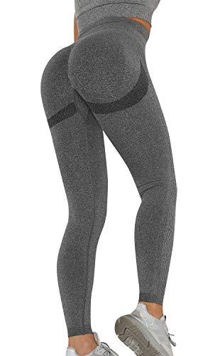Voqeen Sexy Pantalones de Yoga de Punto Sin Costuras Mujeres Damas de...