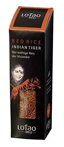Lotao INDIAN TIGER UMBRA roter Reis (Bio Qualität) der kräftige Reis der Visionäre | Bio Vollkornreis | nachhaltig, vegan & hochwertig | 1x 300g