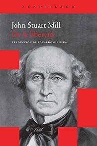 De la libertad par John Stuart Mill