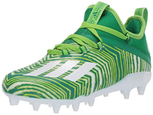 adidas Kid's Unisex adizero Team Green/White/Team Semi Sol Green 6