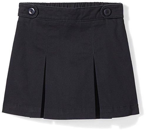 Amazon Essentials Little Girls' Uniform Skort, Black Beauty, S (6/7)