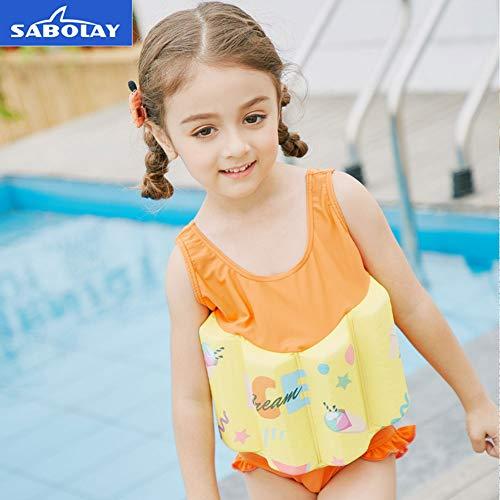 YBZS Kinderbadeanzug, Schwimmweste Mit Abnehmbarem Schwimmblock, Schwimmweste Für Kinderschwimmauftrieb, Schwimmweste Für Kinderschwimmtraining,47.5to51.5In