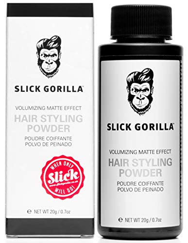 Slick Gorilla Hair Styling Powder 20g Polvo de peinado
