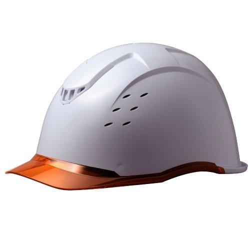 ミドリ安全 ヘルメット CONDOL コンドル SC13PCLV RA KP ホワイト/オレンジ