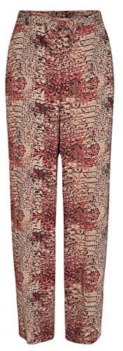 SOYACONCEPT - Damen Leichte Jogg-Pants mit Allover-Print SC-IBINA 3-B - Größe XL