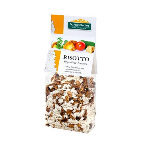 Dr. Ana Collection - Risotto Reis mit Pfifferlingen und Tomaten 200g (3 Beutel) - auch erhältlich als 1 bis 7 Beutel