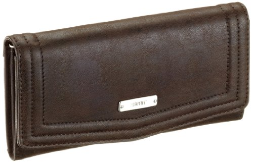 ESPRIT Luca L15024 Damen Portemonnaies, Braun (chocolate brown 248), 9,5X19 cm (B x H x T)