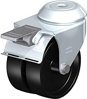 Blickle LMDA-POA 75G-FI zwenkwiel, 2,5 inch wiel Diameter, 39,8 kg. laadvermogen