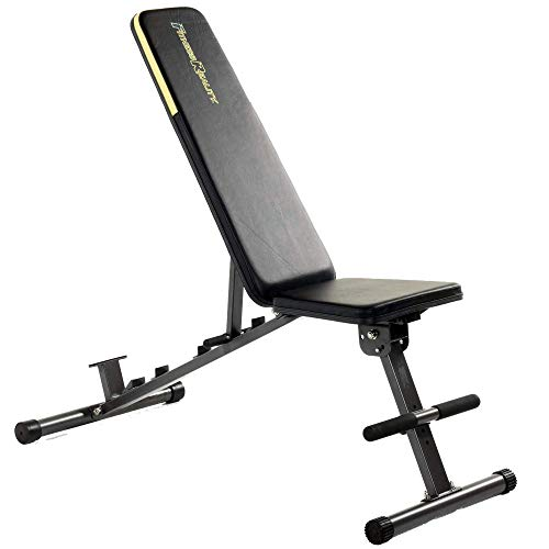 Fitness Reality Multi-Function Adjustable Power Rack Squat Stand with the Fitness Reality 1000 Super Max Bench (2825)