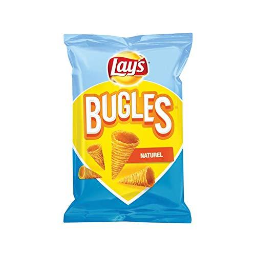 Nacho Salt Chips | Lay's | Signalhorn-natürliche Salz-Späne | Gesamtgewicht 115 Gramm