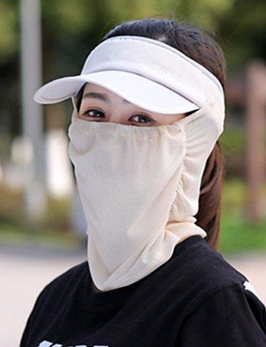 ZYT Femme Décontracté Polyester Chapeau de Soleil,Couleur Pleine Eté, Fuchsia, One-Size