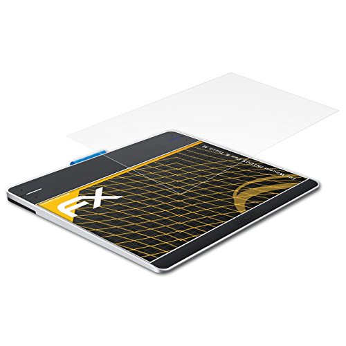 atFoliX Película Protectora Compatible con Wacom INTUOS Pen & Touch M Lámina Protectora de Pantalla, antirreflejos y amortiguadores FX Protector Película (2X)