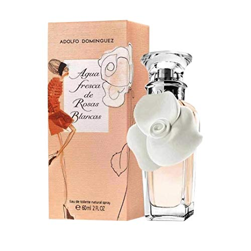 Adolfo Dominguez Agua Fresca de Rosas Blancas Agua de Tocador - 120 ml