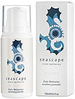 Seascape Island Apothecary Homme Daily Moisturiser (100ml) - 海の島の薬剤師のオム毎日の保湿剤(100ミリリットル) [並行輸入品]