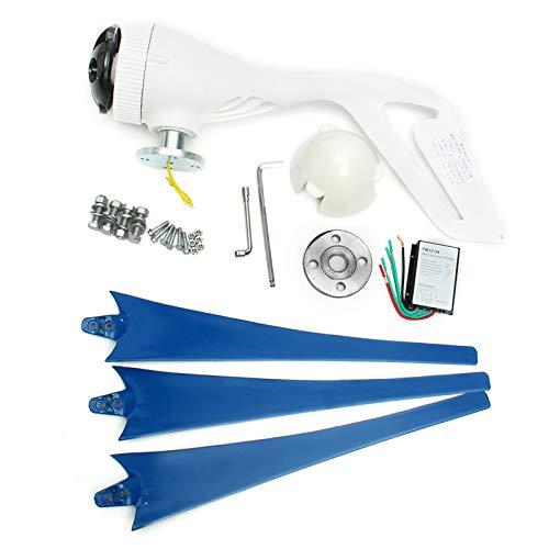 LWQ Windturbine, 4000W / 12V / 24V 3 Nylon Blades Wind Turbines Generator Mit Freiem Wind-Controller Verwenden Hauptsonnenstreet, Boot,3,12V