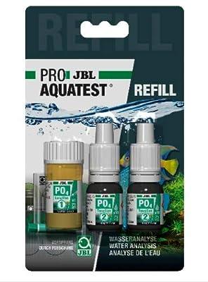 PO4 Phosphat sensitiv Test JBL Refill Schnelltest zur Bestimmung des Phosphatgehalts in Süß-/Meerwasser Aquarien & Teichen