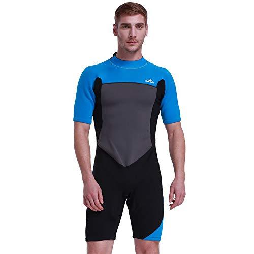 NCBH Wetsuit Mannen Siamese Duikpak Outdoor Zonnebrandcrème Houd Warm Surf Kleding Slim Fit Duurzame Zwemkleding Geschikt voor Onderwater Beweging 2 MM
