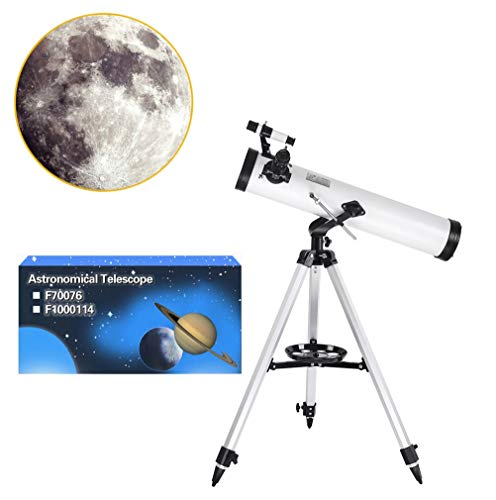 WXFXBKJ Astronomisches Teleskop, Zoom 350x HD Professional Zoom Astronomisches Teleskop Outdoor HD Nachtsichtbrecher Brechung Deep Space Moon aufpassen High Definition Monocular