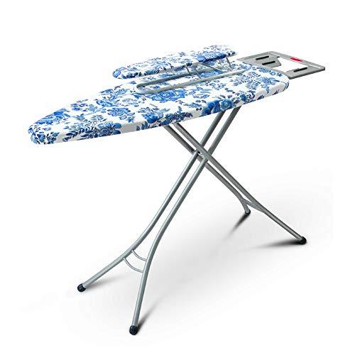 Byx- Strijkplank Strijkplank blauw en wit + IJzeren mouwplank Set Home Folding Klassiek Gratis Aanpassing Ironing Board