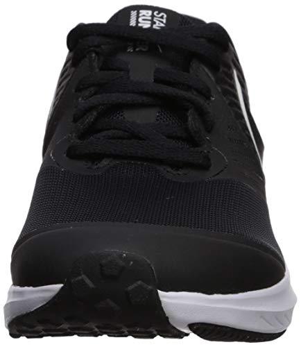 NIKE Star Runner 2 (GS), Zapatillas Unisex Adulto, Negro (Black/White/Black/Volt 001), 40 EU