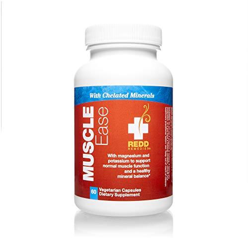 Redd Remedies, Muscle Ease, Magnesium and Potassium Formula, 60 Capsules