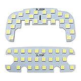 2LOOP(ツーループ) 3チップSMD2点 ハイゼット カーゴ S320V S330V S321V S331V クルーズ クルーズターボは不可 ビジネスパックの場合交換可 LEDルームランプ -純白光