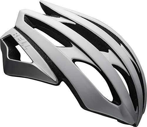 Bell Stratus MIPS Adult Road Bike Helmet (Matte/Gloss White/Silver (2020), Large (58-62 cm)) Bell Road Bike Helmets